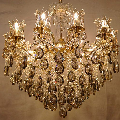 Crystal Chandelier Nalee